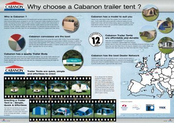 Why Choose A Cabanon Trailer tent ? – Tents