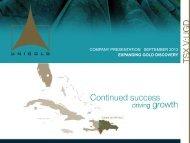 COMPANY PRESENTATION | Annual General ... - gowebcasting