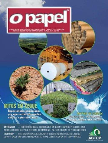 abtcp-pi 2009 - Revista O Papel