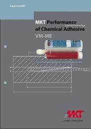 MKT Performance of Chemical Adhesive VM-ME - SALAM Enterprises