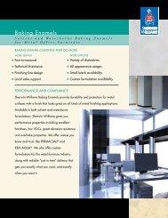 Baking Enamels - Sherwin-Williams Product Finishes