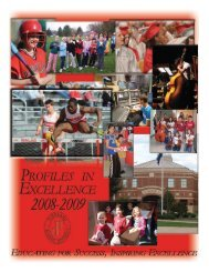 Profiles in Excellence - Parkland School District