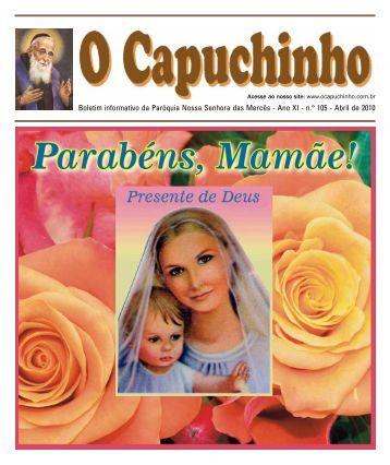 """Jornal """"O Capuchinho"""" - maio de 2010 - Paróquia Nossa Senhora ..."""