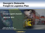 Todd Long, Deputy Commissioner, Georgia Department of ...