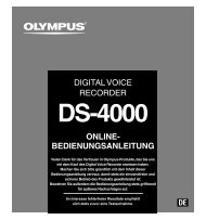 Olympus DS 4000 - voelker-edv.de