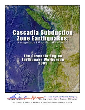 Download Cascadia Subduction Zone Earthquakes - CREW