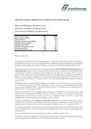 Comunicato (.pdf 100 KB ) - Grandi Stazioni S.p.A.