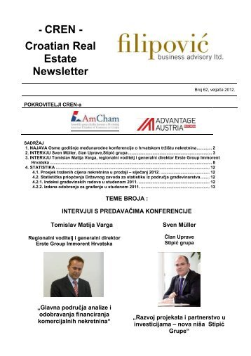 - CREN - Croatian Real Estate Newsletter - Filipović poslovno ...