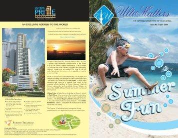 16th Floor, Tower 2, Club Ultima Tel. No.: 418-7777 loc 1653