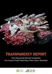 Oxfam's first Transparency Report