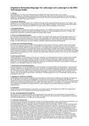 PDF herunterladen (32 KB) - BWS Technologie Gmbh