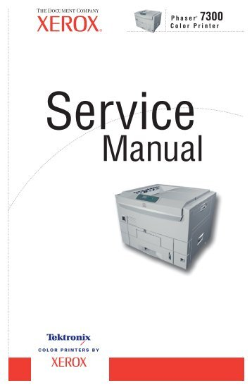 phaser 8400 8500 8550 color printer service manual rh yumpu com Tektronix Calibration Services Tektronix Website