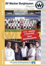 Verein.sv-wacker.de - SV Wacker Burghausen