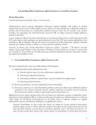 1 Latvijas Republikas Uzņēmumu reģistra lēmumi un to tiesiskuma ...