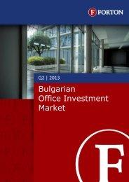 Office Investment Report – Q2, 2013 - Forton