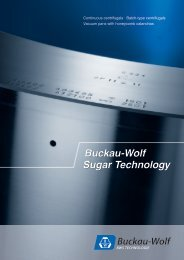 Buckau-Wolf Sugar Technology - BWS Technologie Gmbh