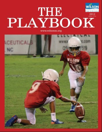 2012 Playbook - City of Wilson