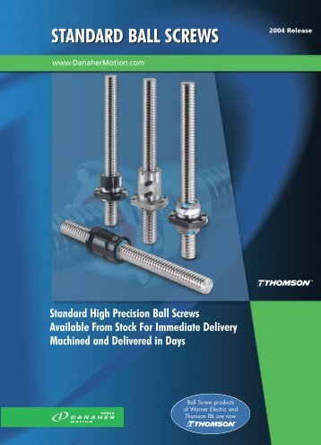 Ball Screw Bearing Support Units