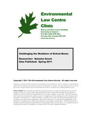 Community Alliance for Public Education - The Environmental Law ...