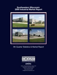 Southeastern Wisconsin 2009 Industrial Market Report - CORFAC ...