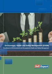 Environment, Health and Safety Management [EHSM] - SoftExpert ...