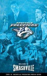 Predators Media Guide - Nashville Predators - NHL.com