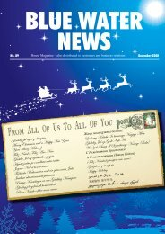 House Magazine – also distributed to customers and ... - Blue Water