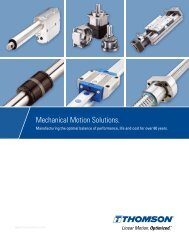 Mechanical Motion Solutions. - Thomson