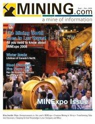 MINExpo Issue - MINING.com Magazine