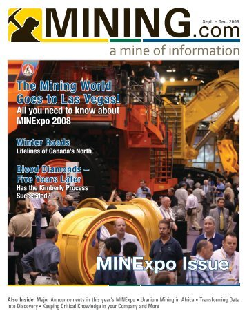 MINExpo Issue - MINING.com Magazine