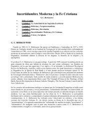 Incertidumbre Moderna y la Fe Cristiana - Online Christian Library