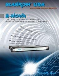 DXP 400 Multiplexer/Scrambler - Blankom USA