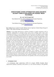 Aerodynamic Shape Optimization using Discrete Adjoint ... - Fyper
