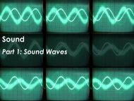 Part 1: Sound Waves - Science with Mr. Enns