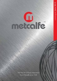 Metcalfe - Catering Equipment Suppliers Association