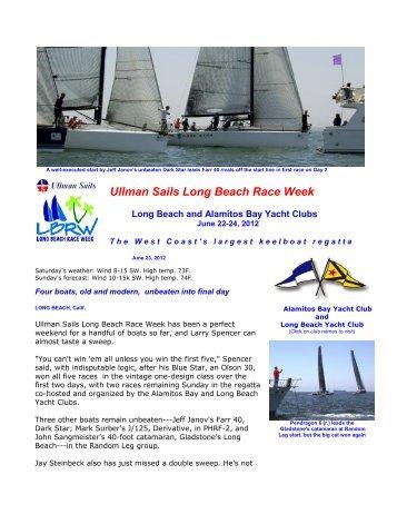 Press Release 6 - Racing Day 2 - Long Beach Race Week