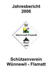 2006 - Schützengesellschaft Wünnewil