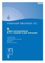 manual técnico (II) - Tegui