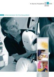 Patienteninformation | 06/2009 - Informationen für unsere Patienten