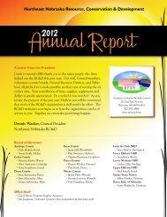 2012 Annual Report - Northeast Nebraska RC&D