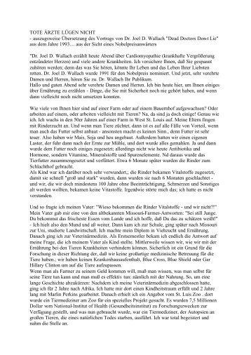 Tote Ärzte Lügen nicht Auszug.pdf - Key of Life