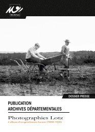 document qui présente l'exposition - Conseil général du Morbihan