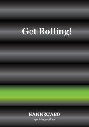Get Rolling - Hannecard