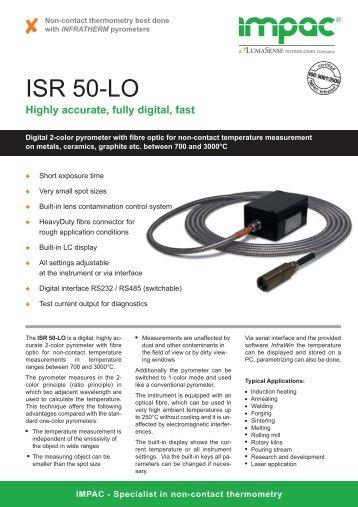 ISR50-LO (english) - Delta Strumenti S.r.l.