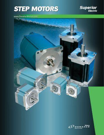 Superior Electric step motors