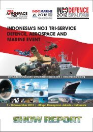 Show Report IDAM 2012 - Indo Defence Expo