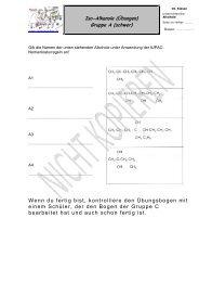 Nomenklatur der iso-Alkanole - Chemiezauber.de
