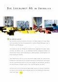 Geschäftsbericht 2002 (pdf) - Localnet AG - Page 6