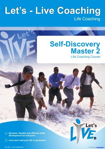 Self-Discovery Master 2 - Let's Live Life Coaching