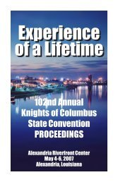 Experience of a Lifetime Experience of a Lifetime - Louisiana State ...